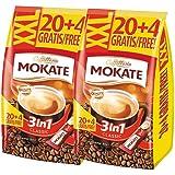 波兰进口MOKATE/摩卡特经典原味三合一速溶咖啡 冲饮调品 三合一速溶咖啡散装17g*48条