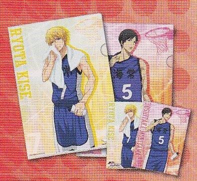Lotteria di pallacanestro di Kuroko MakotoRin Umitsune & G Premio Eliminare file Set Kise & Moriyama singolo elemento pi? Giappone import / Il pacchetto e il manuale sono scritti in giapponese Articoli da regalo e scherzetti