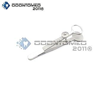 Amazon com: OdontoMed2011® Desmarres Chalazion Forceps Small
