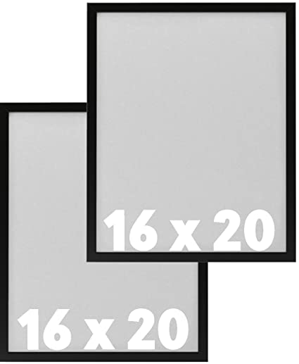 Amazon.com - IKEA Wall Picture Frame Black - 16 x 20 inches - for ...