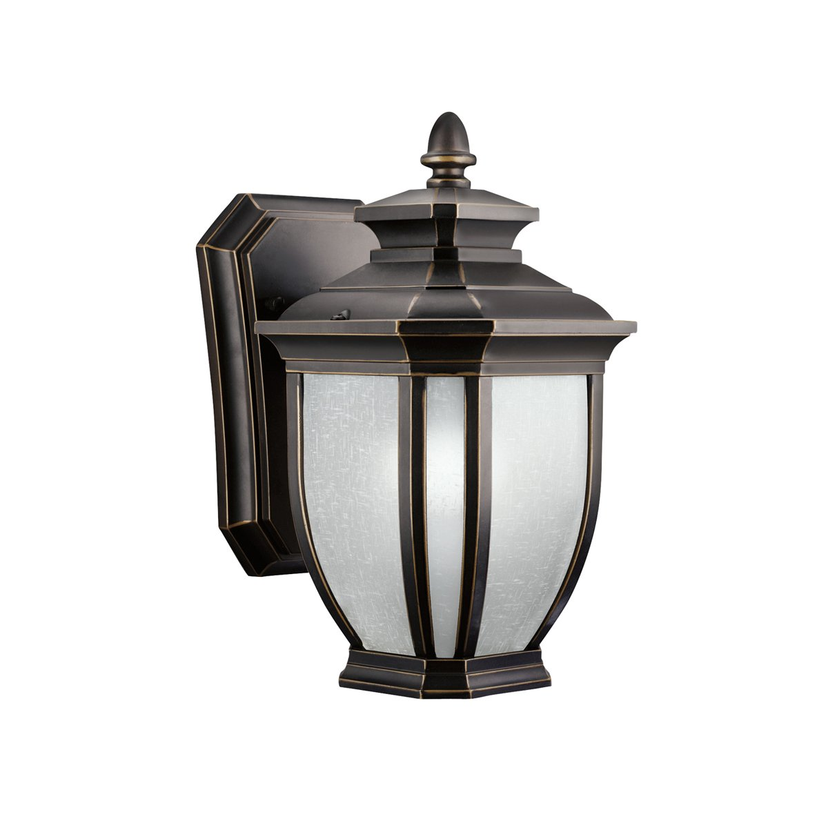 Kichler Lighting 9041RZ Salisbury 1 Light Outdoor Wall Mount Fixture   Rubbed Bronze with White Linen Glass   Wall Porch Lights   Amazon comKichler Lighting 9041RZ Salisbury 1 Light Outdoor Wall Mount  . Kichler Lighting Outdoor Sconce. Home Design Ideas