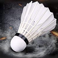 Suryavanshi World Badminton Feather Shuttlecock (White, Large) Pack of 10