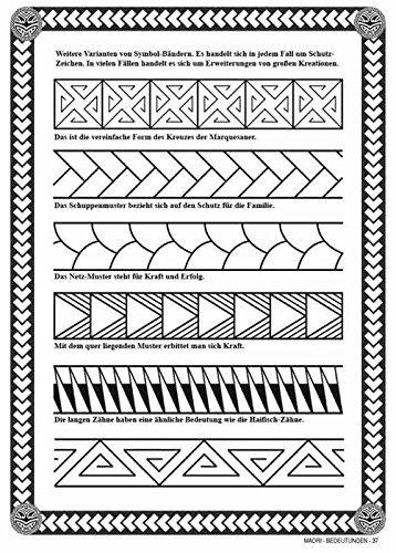 Maori Vol 2 Bedeutungen Polynesien Tattoos Amazon De Kruhm Verlag Bucher