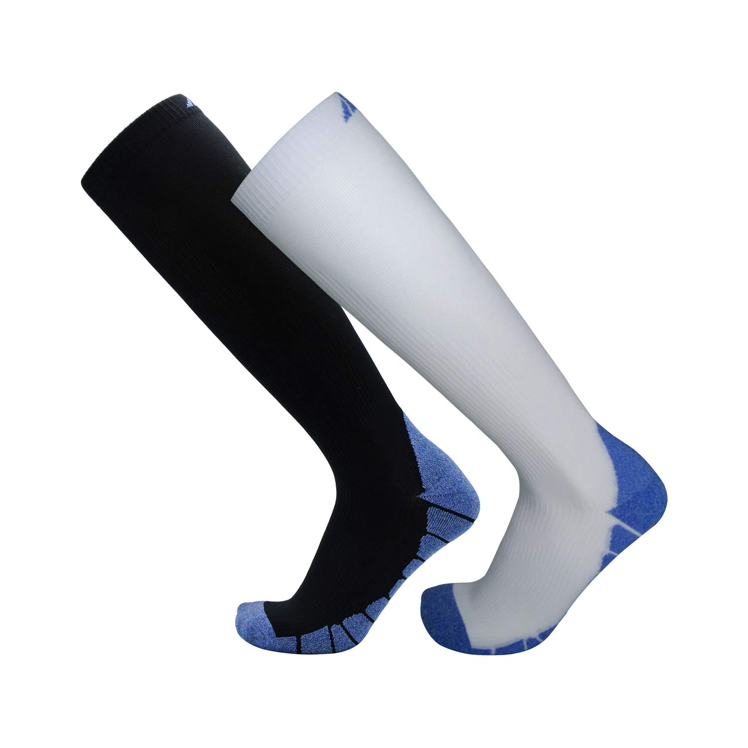 Amazon.com: Compression Socks Women & Men - Relief Foot Ankle Pain & Calf  Leg Swelling - Cushioned Athletic Fit Support Sports Running Cycling -  Improve ...