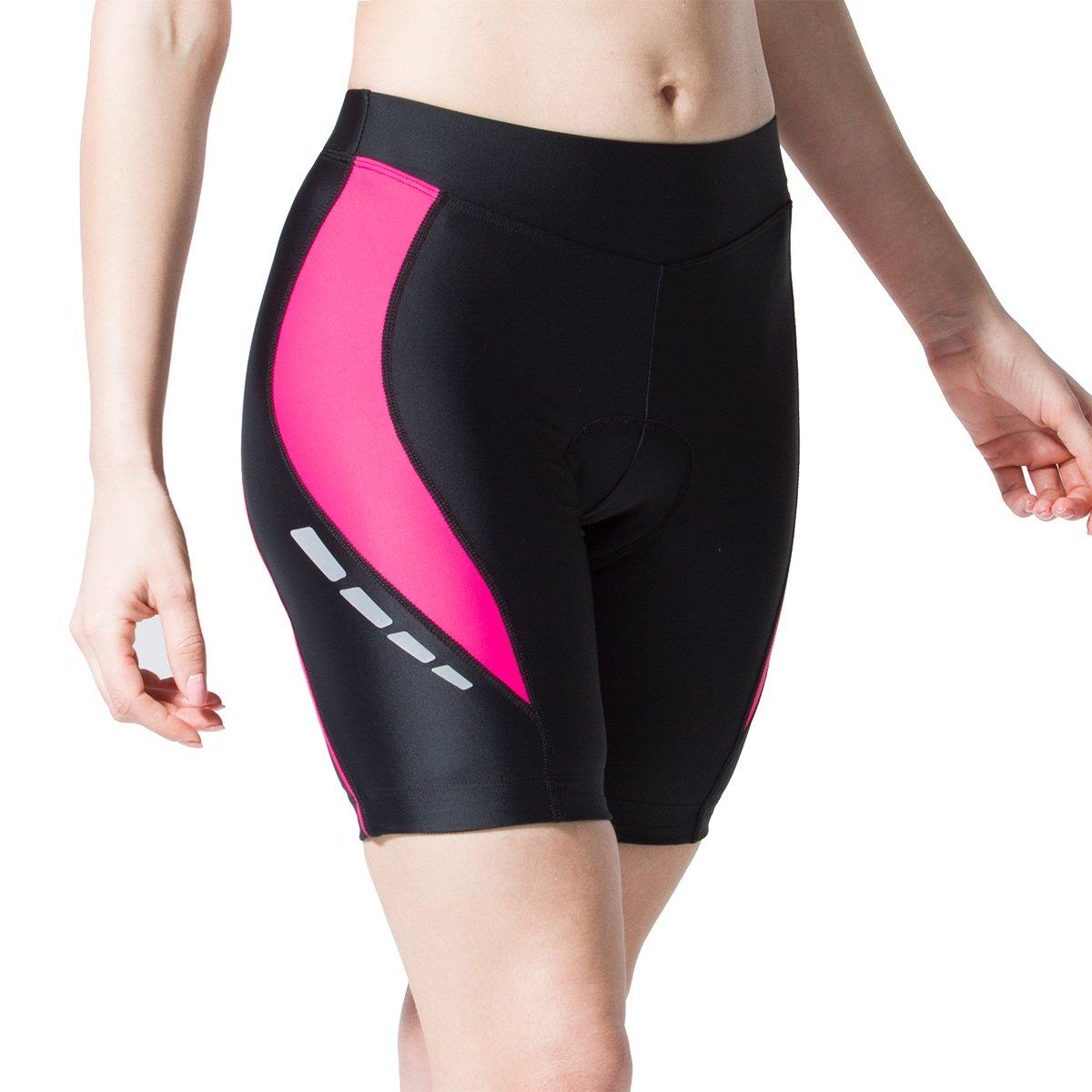 Muddyfox Mujer Pantalones Capri Acolchados De Ciclismo