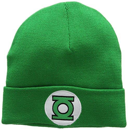 Green Punto Verde Lantern DC DC Adulto Comics Talla de única Unisex Logo Gorro TanF0wgx