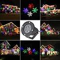 ABCDOK Laser Christmas Lights-Outdoor Holiday Light,Garden Projector Laser Lights Led Landscape Spotlight for Home Decoration Birthday Party