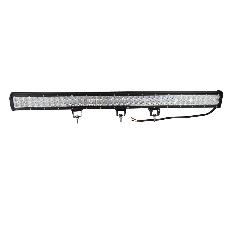 AUXTINGS 22 pulgadas 144W Spot Flood Barra de luces LED Luces de conducci/ón campo a trav/és con arn/és de cableado Kit para 4WD AWD campo a trav/és Camioneta 4x4 SUV Van Wagon Van Camper Camber