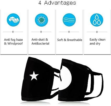 KIMDFACE Face Cover,Bandiera del Giappone Kanji Texture,Passamontagna Unisex Riutilizzabile Antivento Antipolvere Bandane Bocca da Campeggio allaperto da Moto Ghette da Collo con 2 filtri