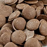 Guittard Milk Chocolate Pistoles - 38%, Soleil D'Or - 1 box - 25 lb