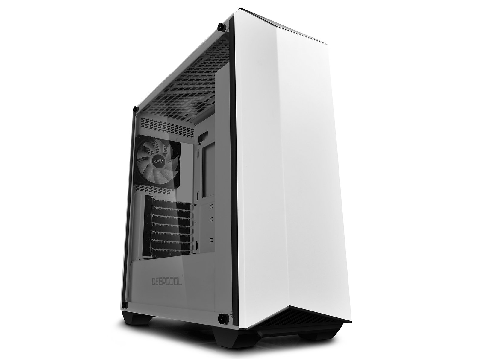DeepCool EARLKASE RGB WH White Steel/Plastic/Tempered Glass ATX Mid Tower Computer Case