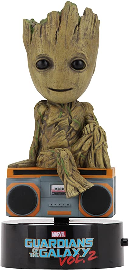 Guardians of the Galaxy Vol.2 Groot Solar Powered Body Knocker
