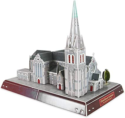 Cathedral Church Chapel Building Bricks Toys Construction Blocks Toy Set