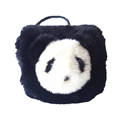 prelikes Kids Plush Kawaii Panda Single Cross Body Shoulder bag Pouch Purse  Handbag (Black)  Amazon.co.uk  Clothing d8f3913b22ac5