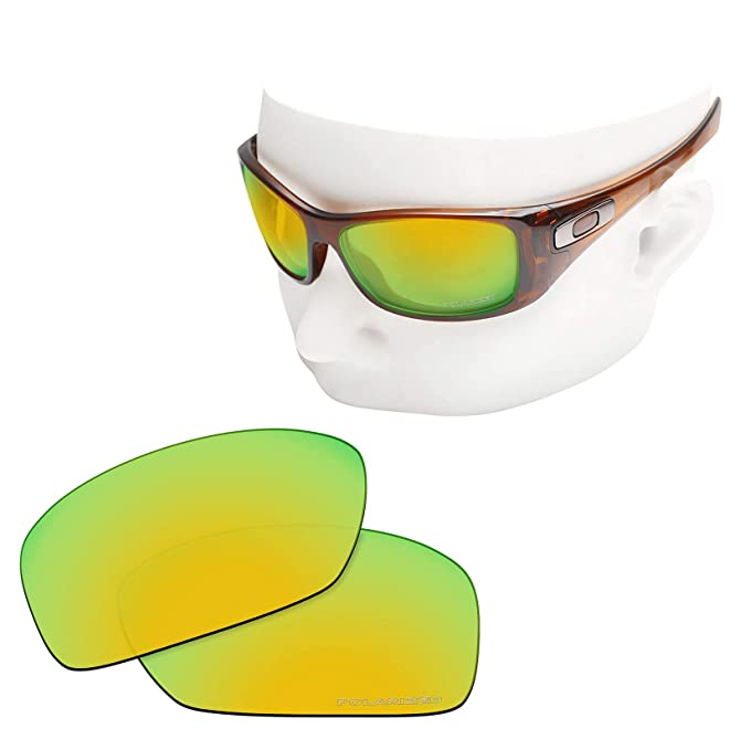 bd883441b8c OOWLIT Replacement Lenses Compatible with Oakley Hijinx Sunglass 24K  Combine8 Polarized