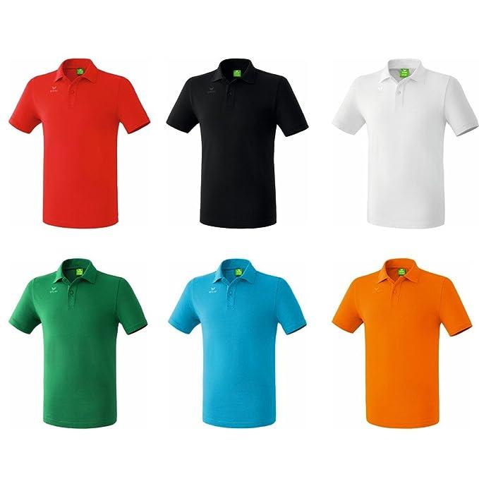Erima Golf Perfect Polo Camiseta Negro Blanco, Rojo, Azul, Verde ...