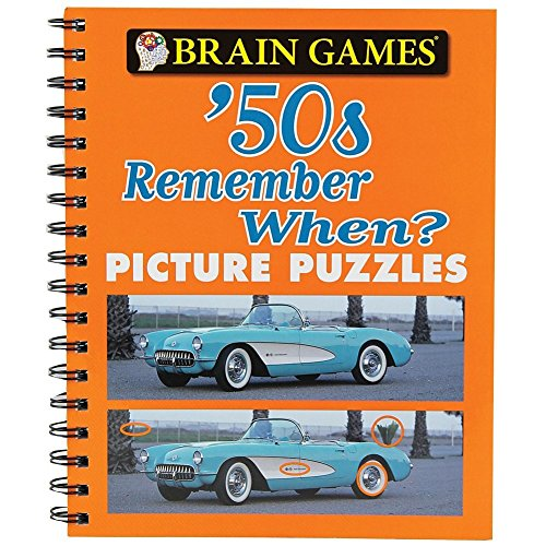 Brain Games™ Picture Puzzles: '50s Remember (Find Picture Puzzle)