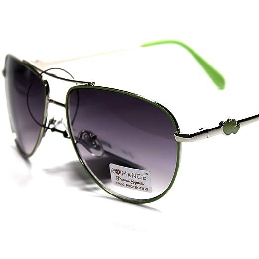 a46a21b1e86 Amazon.com   RO1-S6 Romance Eyewear Elegant Stylish Women s Aviator ...