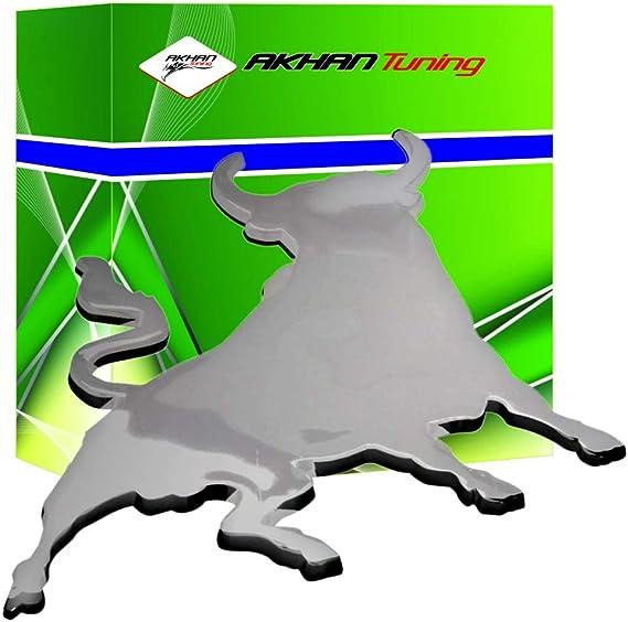 Akhan At3d07207 Chrom 3d Schriftzug Emblem Logo Toro Bull Auto