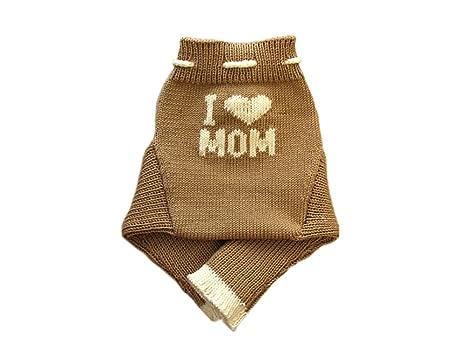 100/% Merino Wolle Baby Wollwindelhose /Überhosen Soaker gestrickt I love Dad L Aqua blue-Dark grey
