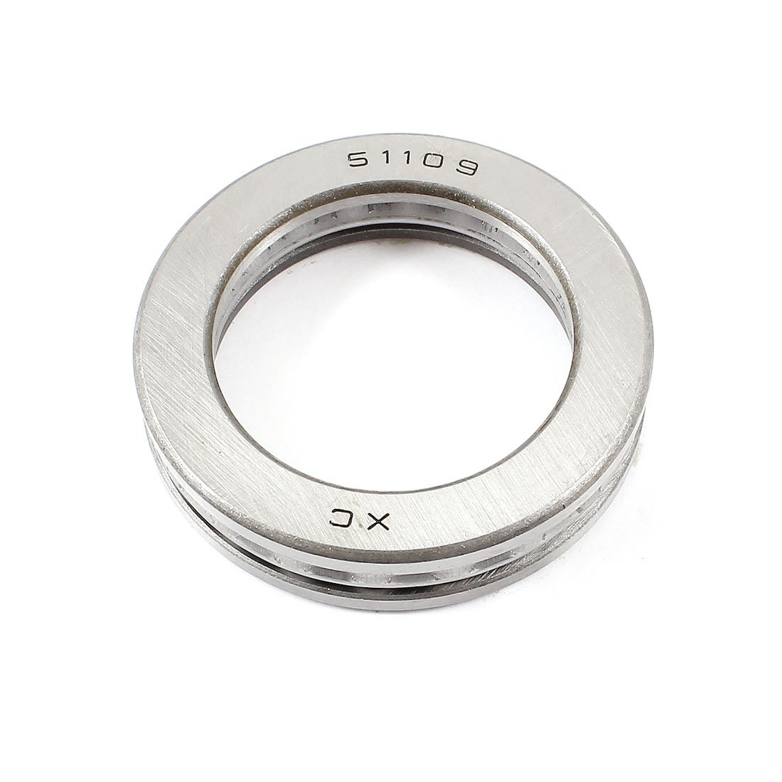 Uxcell a14061000ux0792 Carbon Steel Ball Thrust Bearing 51109 45mm x 65mm x 14mm, 1.8 Carbon Steel