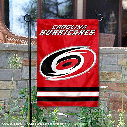 (WinCraft Carolina Hurricanes Double Sided Garden Flag )