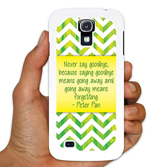 Amazoncom Samsung Galaxy S4 Peter Pan Never Say Goodbye White