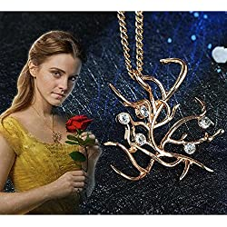 2017 Live-action movie Beauty and the beast Bells Wind Necklace Costume accessory
