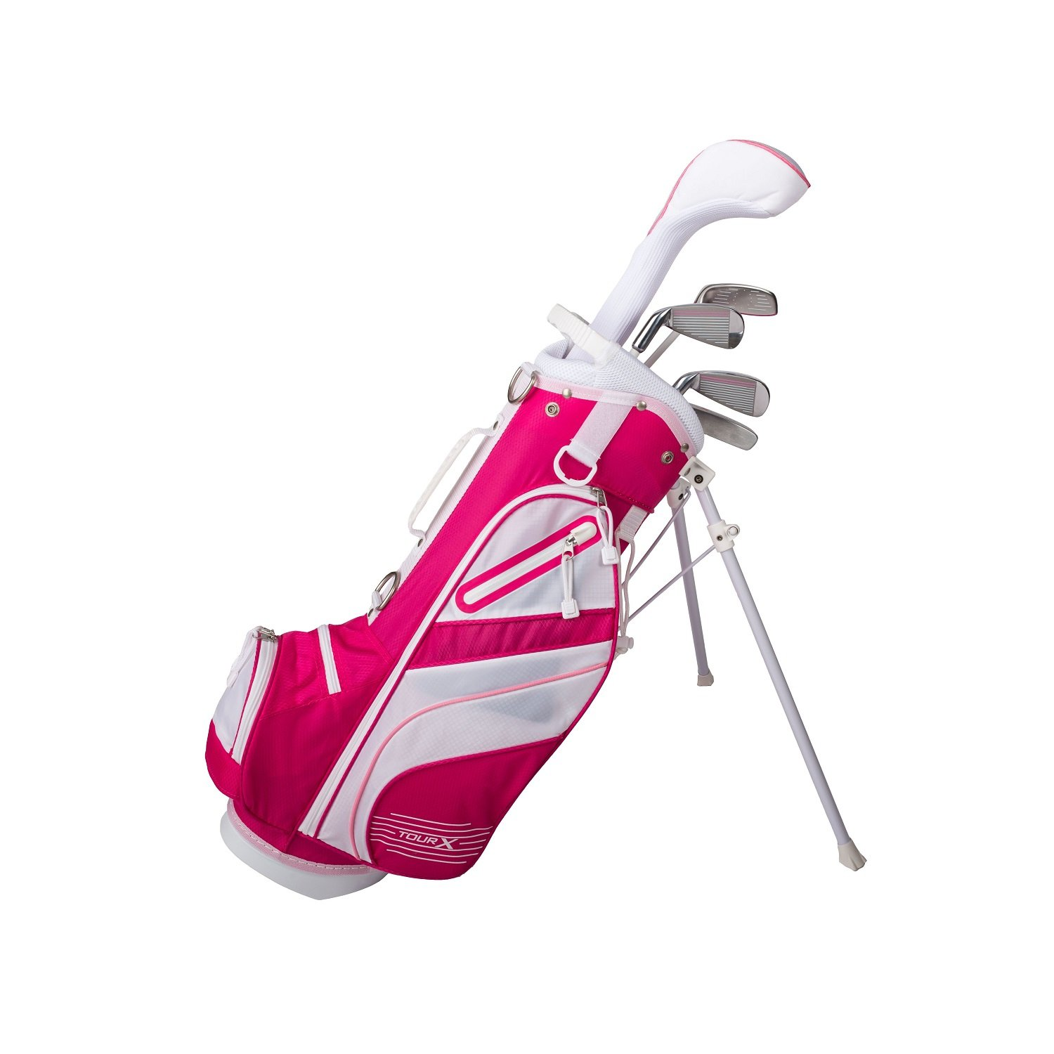 Tour 5pc Jr X Size Set 1 Pink 5pc Jr Golf Set w/Stand Bag [並行輸入品] B07CWPVBND, 収納雑貨ツエッペ:b613a988 --- cooleycoastrun.com