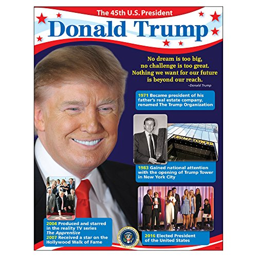 Trend Enterprises President Donald Trump Learning Chart (1 Piece), 17