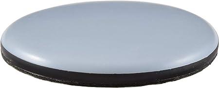 22 mm patins pour chaises et autre meuble 16 x Patin glisseur en teflon avec vis rond