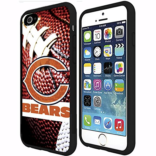 Chicago Bears Football Sports RUBBER Snap on Phone Case (iPhone 6 Plus)