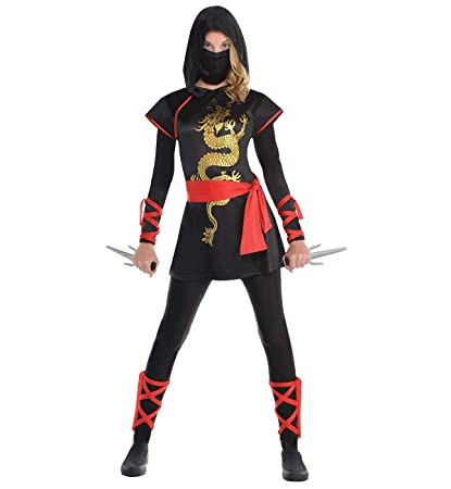 c1f84d6a64e Amscan Adult Ultimate Ninja Costume - Small (2-4)