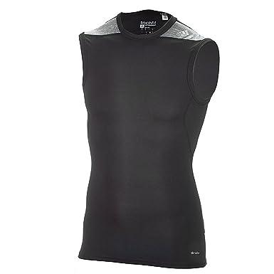 Noirgris Sans Adidas Techfit T d81409 Base Pour Manche Shirt n4w4Rxr