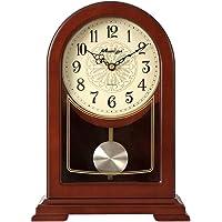 NNIU-ZH Reloj de Escritorio- Reloj de sobremesa, Madera