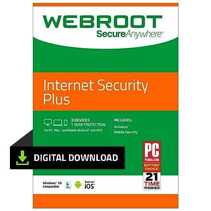 Webroot secureanywhere antivirus download.