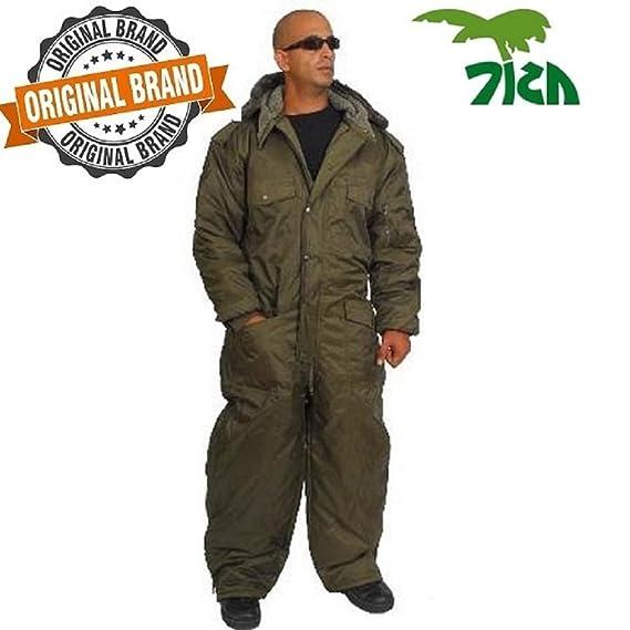 Amazon.com  Coverall IDF Hermonit Snowsuit Ski Snow Suit Men s Cold Winter  Clothing - green  Clothing 06205b4b445