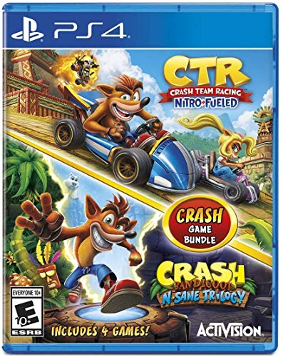 Crash Team Racing + Crash Bandicoot N.Sane Trilogy Bundle - Playstation 4
