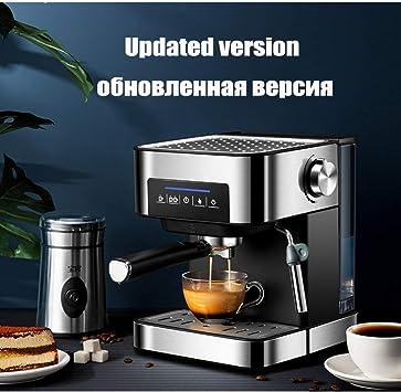CTDMMJ Máquina de café Espresso semiautomática 20 Bar de Vapor de Alta presión para la Oficina en el hogar Cafeteras de Burbujas de Leche comerciales: Amazon.es: Deportes y aire libre