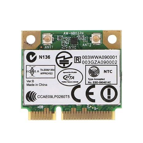 MIUSON para Azurewave AW-NB037H 802.11nbg + Bluetooth 3.0 ...