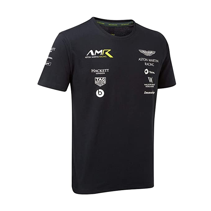 Aston Martin Racing Equipo Mens T-Shirt 2018: Amazon.es: Ropa y accesorios