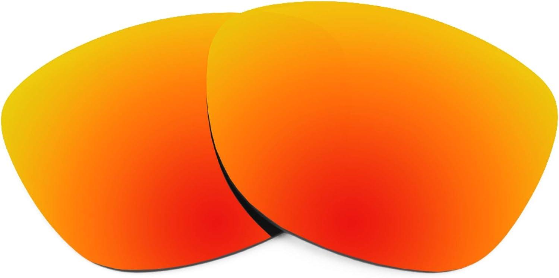 Revant Verres de Rechange pour VonZipper Hotwax - Compatibles avec les Lunettes de Soleil VonZipper Hotwax Rouge Feu Mirrorshield - Polarisés