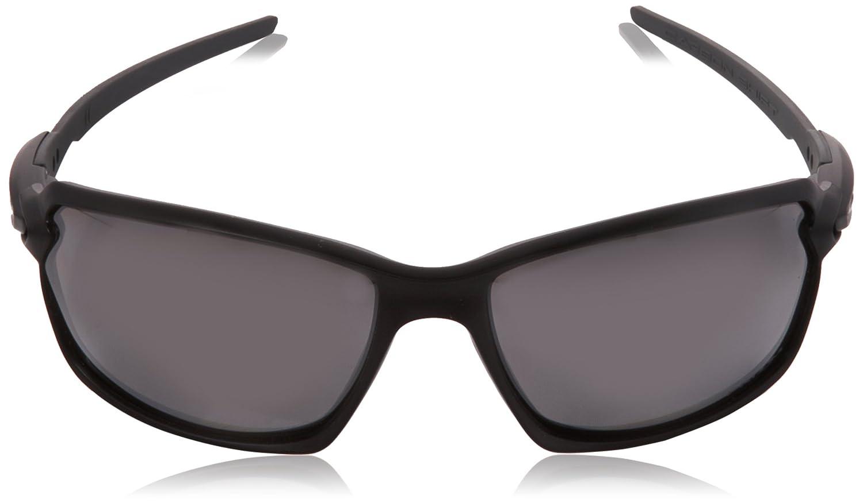 Oakley Herren Sonnenbrille Carbon Shift 930208, Schwarz (Matte Black/Prizmblackpolarized), 62