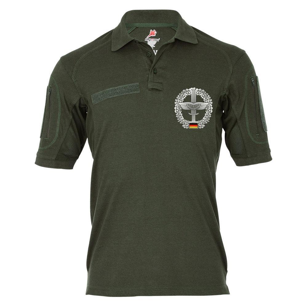 Tactical Polo Heeresflieger Barett-Abzeichen Bundeswehr Fritzlar Bo105 Wappen Einheit Staffel  22114