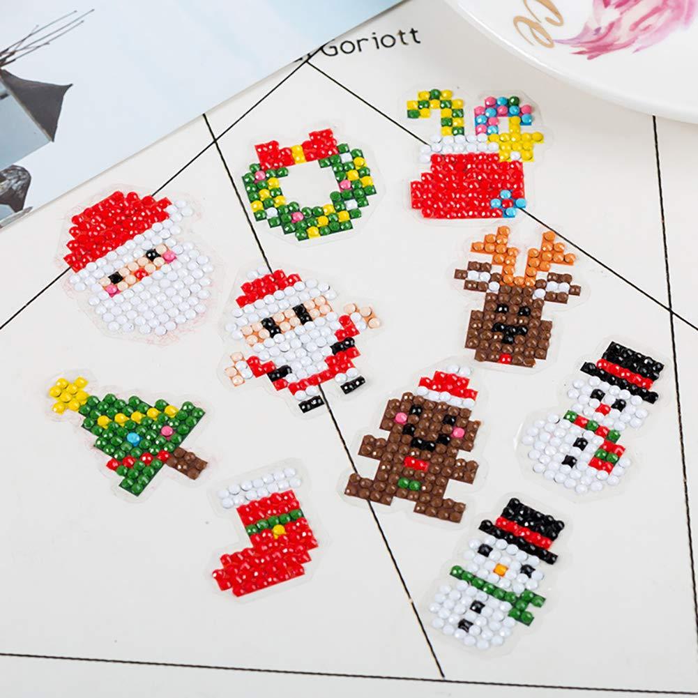 UGUAX - Juego de 8 Pegatinas para Pintar con diseño de Panda y ...
