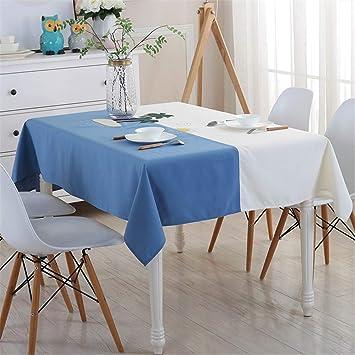 Steaean Nappe Table Basse Nappe Tissu Rectangulaire Jardin Coton ...