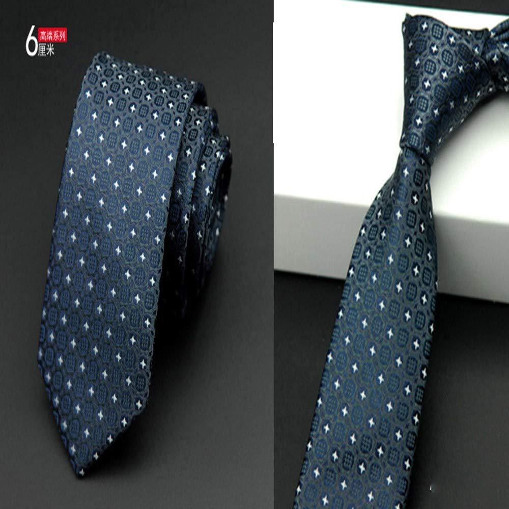 NSLDQ Corbata 6 cm Lazos para Hombres Corbata Flaca Vestido de ...