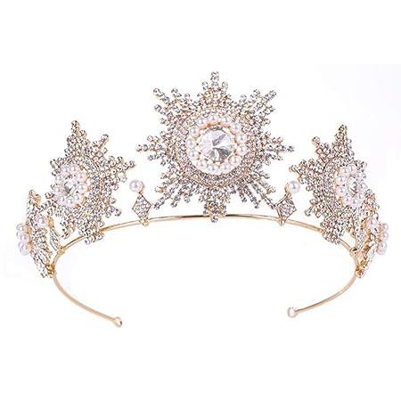 L-YIN Elegante Boda Tocado Novia Dama De Honor Princesa ...