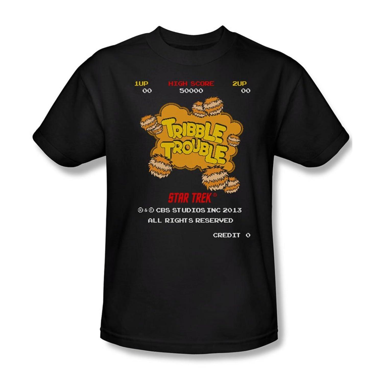 Star Trek - Mens Tribble Trouble T-Shirt In Black