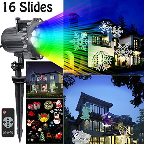 Outdoor Led Projector Christmas Lights - 9